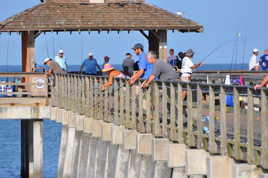 gallery - fishing at the pier