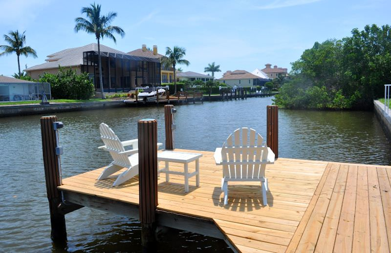 Heron-Gulf Coast Cottage-Dock