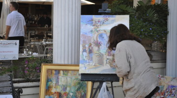 Third on Canvas – Sunday and Monday in Naples