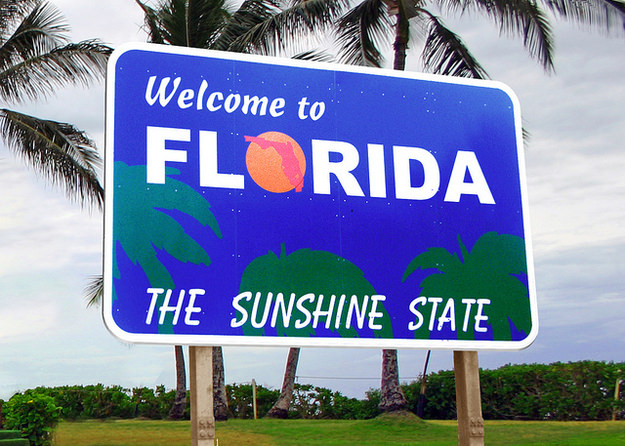 FLORIDA (Welcome to Florida Sign)