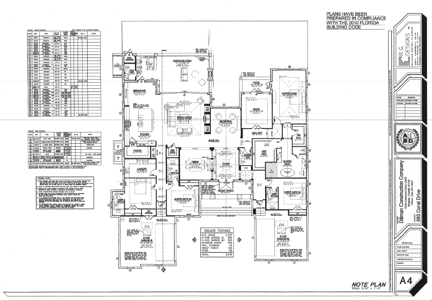 693 Coral Dr - Floor Plan