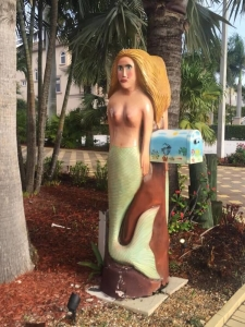 Mermaid Mailbox