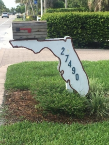 State of Florida Outline Mailbox