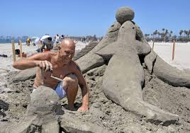 SANDCASTLES in Fort Myers Beach / Annual Sandsculpting Championship